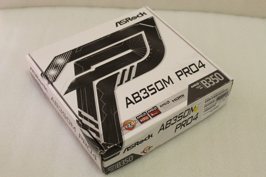 Details about Motherboard Matx B350 Asrock AB350M PRO4 Socket AM4 with  Accessories Ryzen 3000